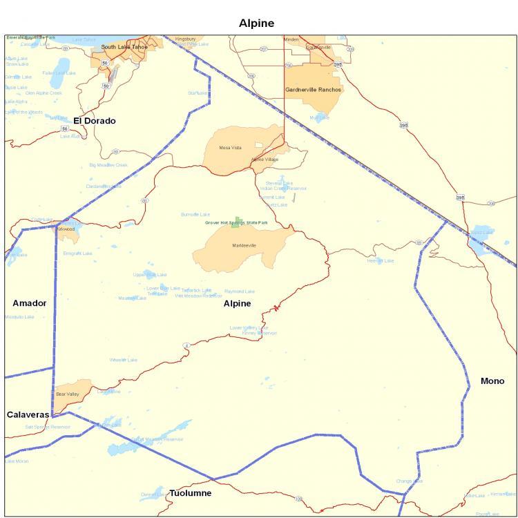 Alpine county Erwachsenenschutzdienste